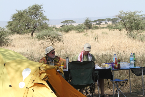Hot lunch on a 4 Days Serengeti Camping Safari