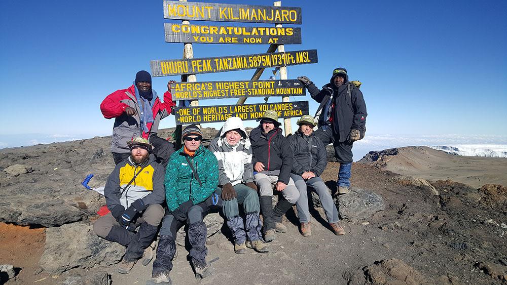 Uhuru Peak - Mount Kilimanjaro