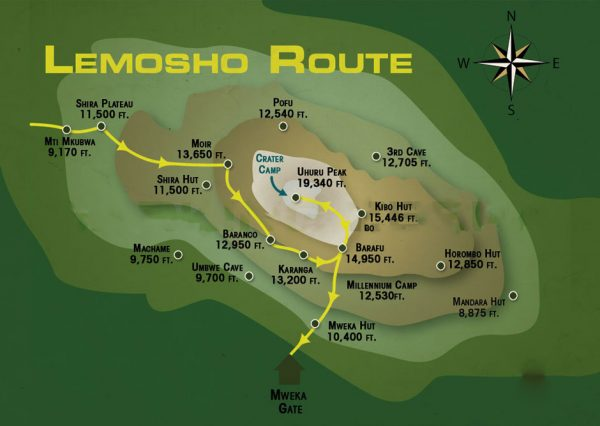 lemosho-Route