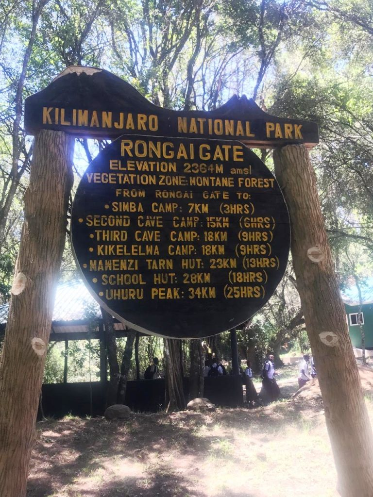 6 Days Rongai Route
